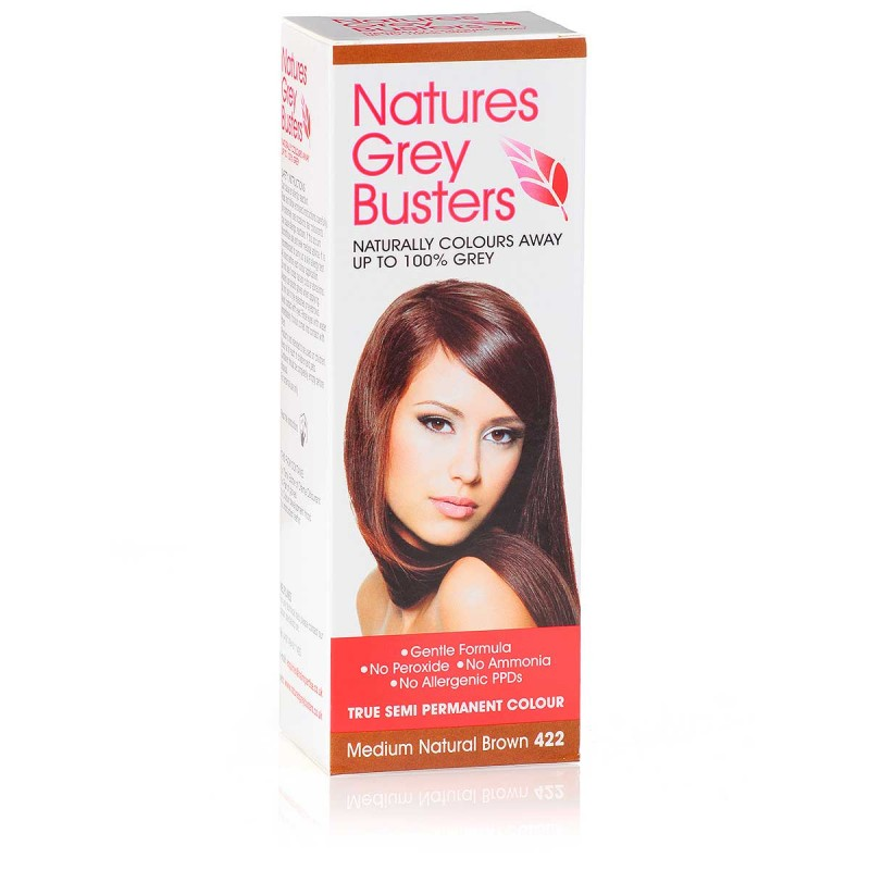 Natures Grey Busters Medium Natural Brown 422 Hair Colour
