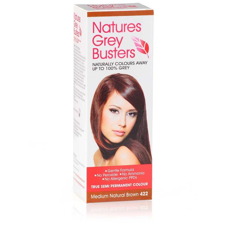 Natures Grey Busters Medium Natural Brown 422 Hair Colour